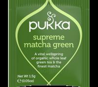 Pukka Bio Vert Matcha Suprême Thé énergie Vitalité 20 Sachets