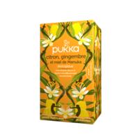 Pukka Bio Citron, Gingembre Et Miel De Manuka Tisane Immunité Citron Gingembre Miel De Manuka 20 Sachets à CUISERY