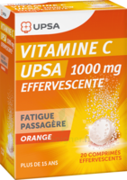 Vitamine C Upsa Effervescente 1000 Mg, Comprimé Effervescent à CUISERY