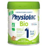 Physiolac Bio 1 Lait En Poudre B/800g à CUISERY