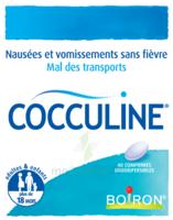 Boiron Cocculine Comprimés orodispersibles B/40 à CUISERY
